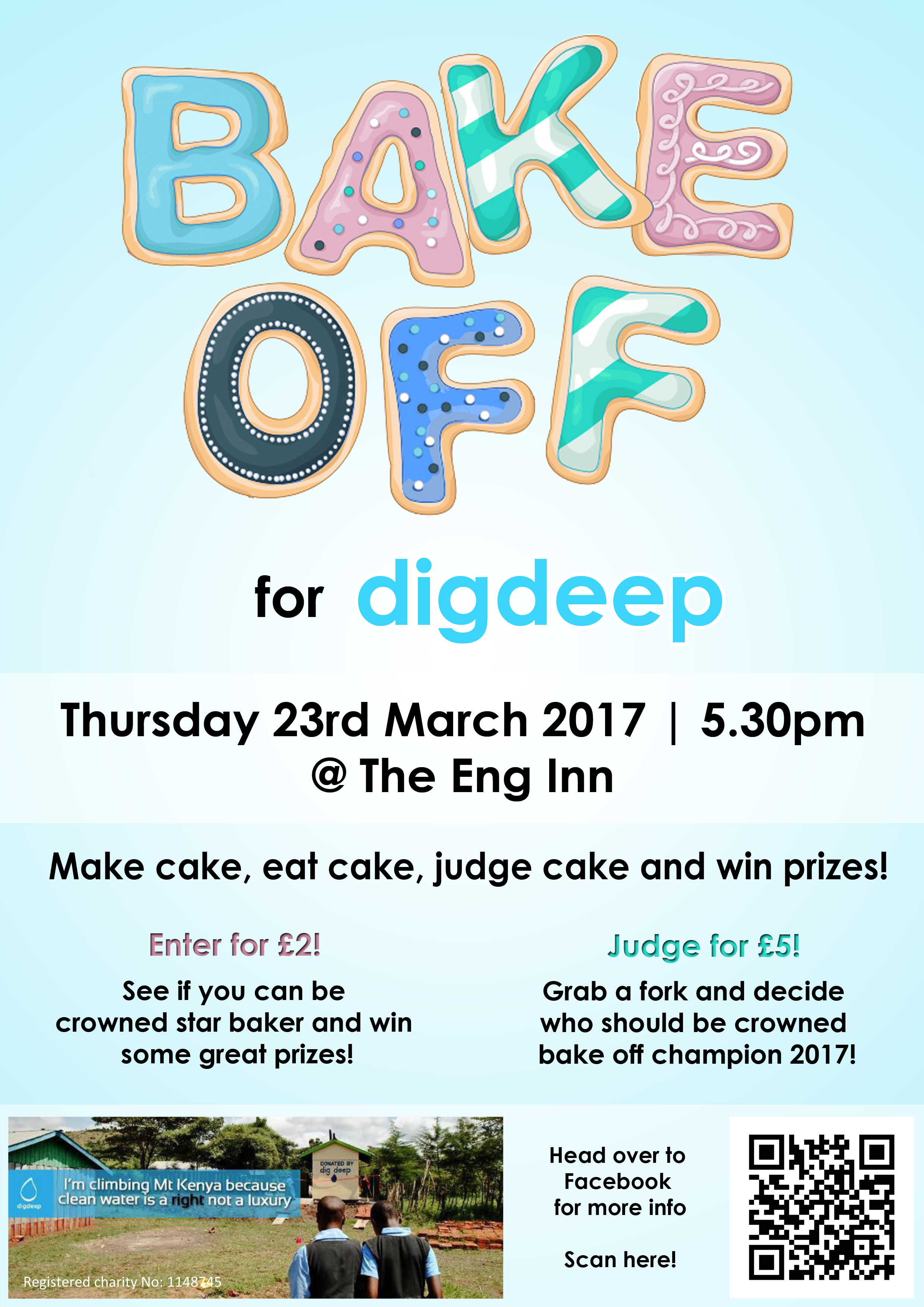 the bake off for dig deep school of engineering engineering bake off for dig deep