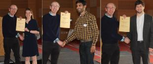 Award winners of the 2016 School Research Conference
