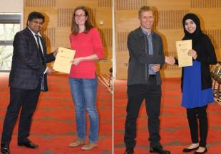 Award winners of the 2017 School Research Conference