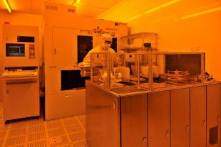 "Nikon wafer stepper and Brewer photoresist coater in the SMC cleanrooms for microsystems fabrication and ""more than Moore"" post-processing"