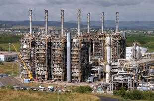 Exxon Chemicals Fife Ethylene Plant