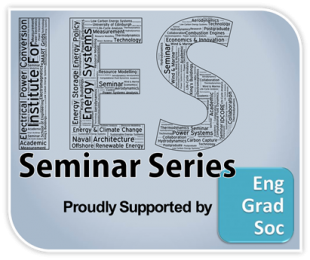 IES Seminar Series - Supported by EngGradSoc