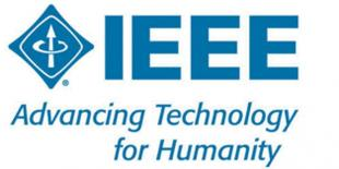IEEE logo and strapline: Advancing Technology for Humanity