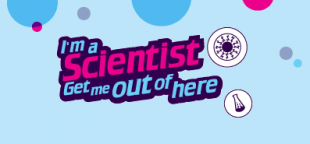 I'm a scientist, get me out of here logo