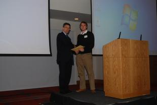 Best Poster Award Winner - Stephen Blowers