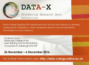 DATA-X Exhibition Poster