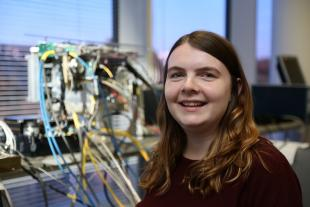 At a ceremony in London on 14th October, Fiona Muirhead, PhD student in Geosciences & Engineering, received an Industrial Fellowship from the Royal Commission for the Exhibition of 1851