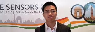 Jinxi Xiang, a visiting PhD student in the School's Institute for Digital Communications