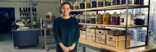 Olivia Sweeney (MEng Chemical Engineering, 2017) works as Ethical Buyer for Aroma Chemicals at Lush