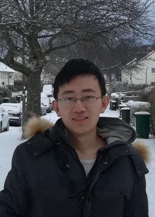 Xioayan (Alan) Shi, who is studying for a joint PhD in the Institute for Digital Communications