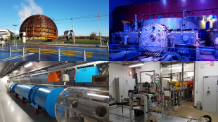 Collage of images from CERN, Geneva. Image credit: Anthony Bulling