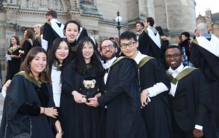 Celebration for MSc Advanced Chemical Engineering Graduates in Edinburgh