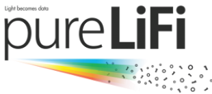 PureLiFi logo