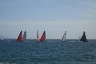 Racing Sailing Yachts