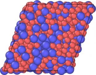 DEM simulation of shear flow of particle suspension