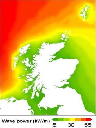 Scotland's Wave Resource (Scottish Executive Matching Study, 2006)