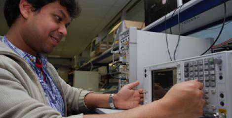 MSc student working in a signal processing and communications laboratory