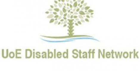 University of Edinburgh Disabled Staff Network logo