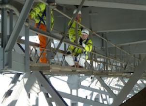 Research Engineers on the Forth Road Bridge