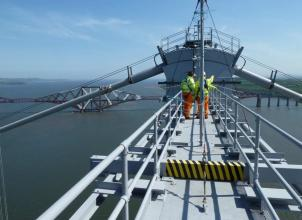 Student Engineers on the Forth Road Bridge