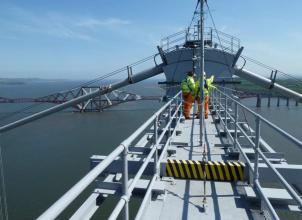 Student Engineers on the Forth Road Bridge
