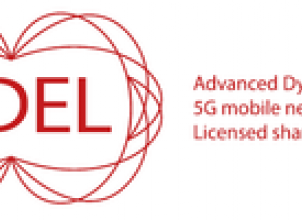 ADEL: Advanced Dynamic spectrum 5G mobile networks Employing Licensed shared access logo